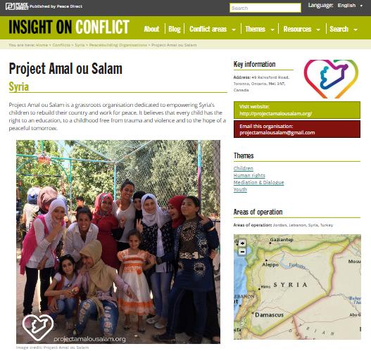 lebanon peacebuilding organisations
